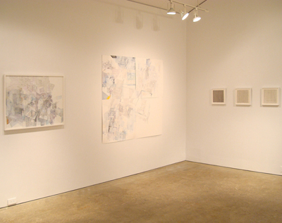 Line and Time and Space: Isabel Albrecht, Sharka Hyland, Bruce Pollock, Sebastian Rug